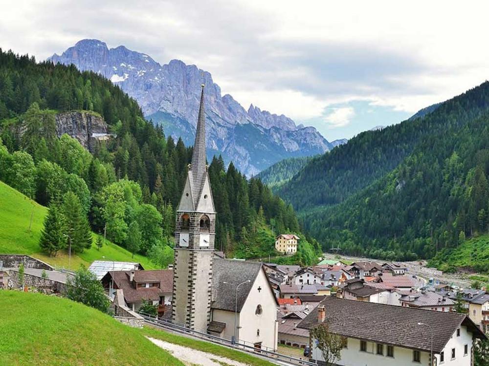 Soggiorno montagna a alleghe caprile con escursioni i for Soggiorno montagna